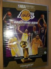 DVD N° 6 NBA Historia 1997-2013 Lakers Muestras 2001/2002 Italiano-Inglés