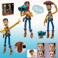 "TOY STORY/ WOODY SCI-FI REVOLTECH N.010 15 CM- ACTION FIGURE 6"" IN BOX"