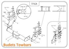 Iveco Daily 1999 - 2014 (Models 29-49) - Tow Trust Fixed Flange Towbar