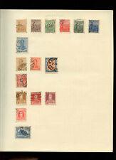 Argentina Album Page Of Stamps #V3979