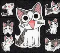 7 Cat Vinyl Stickers