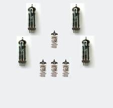 EL84 Quad & 4 x 12AX7 Valve Kit for Orange Dual Terror Guitar Amplifier Tube Amp