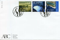 Croatia Nature Stamps 2020 FDC Natural Wonders Parks Caves Lakes 3v S/A Set