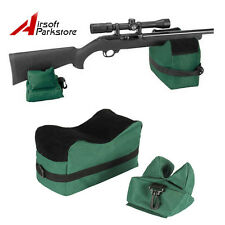 Tactical Hunting Shooting Rifle Gun Target Stand Front Rear Bench Rest Bag OD