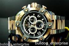 Mens Invicta 13017 Reserve Grand Arsenal Full Size Rose Gold Gun Metal Watch New
