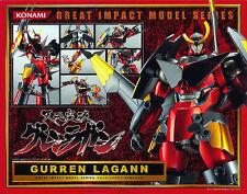 Used Konami Gurren Lagann Great Impact Model Series Gurren Lagann PVC