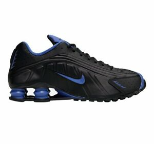 Nike Shox R4 Casual Shoes Black / Game Royal Blue Size 10 104265 053