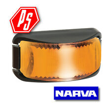 NARVA LED SIDE DIRECTION INDICATOR LAMP AMBER TRAILER LIGHT 9V-33V 91642