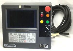 "Kawasaki AD Controller Operator Panel w/Cable 9"" Screen, 3.5"" FDD For A50F/JS-5"