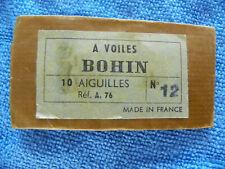 Ancien étui Aiguille BOHIN couture mercerie Needle Sewing Nadeln sharp