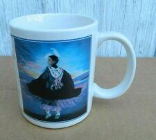 Vtg Leanin' Tree Native American Dancing Woman Coffee Mug Mgw195-Karen Noles-Vgc