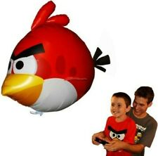 LOT OF 4 NEW Angry Birds Air Swimmers Turbo RED Flying Remote Control Balloon RC