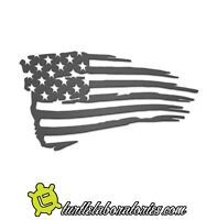 Rustic American Flag Patriotic Metal Wall Art Hanging Home Decor