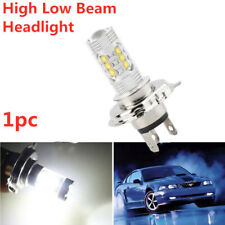 1x H4 80W HID LED Light Bulbs Hi/Lo Car Motorcycle Headlight Fog Lamps 6000K