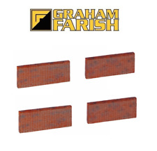 Graham Farish 42-565 6ft Victorian Wall Sections N Gauge