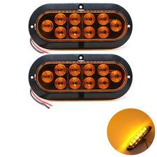 NEU 2X 10 LED Gelb Bremsleuchte Bremslicht Zusatzlicht für Auto Kfz Lkw Anhänger