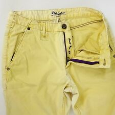 Robert Graham Classic Yates Mens Sz 31 Yellow Jeans