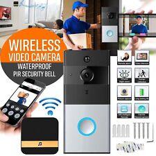 Wireless Door Bell Video Camera Phone Door 2 Way Home Monitor Doorbell WIFI