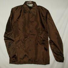 Vintage Gem Sportswear Womens Jacket Size S Brown P82