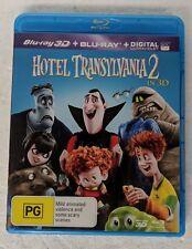 HOTEL TRANSYLVANIA 2 Blu-ray 3D + 2D Blu-ray 2-DISC Region A B C oz seller
