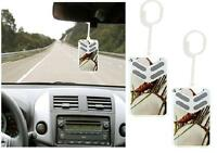 2x Little Box Coconut Car Air Fresheners Scent Hanging Freshener Home Office New