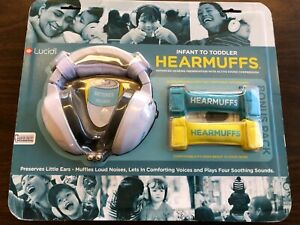 Lucid Audio Hearmuffs NEW in package Bonus pack with two additional growbands