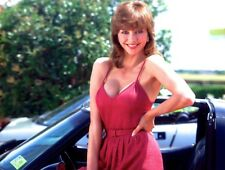 """1980-1989 VICTORIA PRINCIPAL """"Girls and Cars"""" color glamour classic photo"""