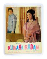 Kuwara Badan 1973 Rakesh Pandey, Madhu Bollywood PressBook Vintage Booklet