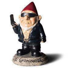 The Gnominator Garden Gnome Terminator Novelty Funny Gift Statue Ornament