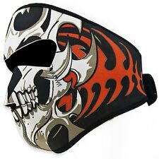 US Motorcycle Bike Cycling Neoprene Half Face Masks Skull Ski Kerchief Headwear