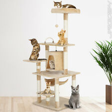 Cat Tree Activity Centre Scratching Post Scratcher Cave Toy Play Bed 164 cm