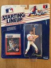 1988 Kenner Starting Lineup Wade Boggs Boston Red Sox Unopened Mip
