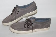 Aldo 2 Eye Boat Shoe / Casual Shoes, Grey, Leather, Men's US Size 13