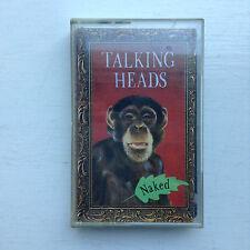Talking Heads - Naked - cassette