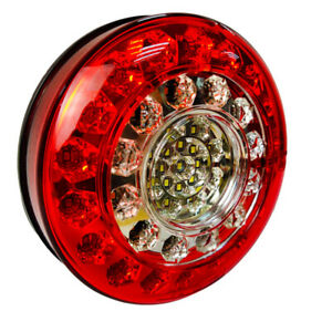 Round led tail lights