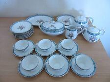 23pc Noritake Miniature Tea Set Teapot, Teacups + Saucers, Plates, Etc.