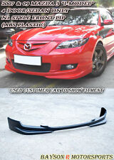 N1-Style Front Lip (ABS) Fits 07-09 Mazda 3 4dr i-Model