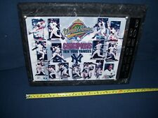 New York Yankees 1996 World Series Champion Team Wall Plaque