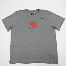 Dayton Flyers Nike Dri-Fit Short Sleeve Shirt Men's Gray Used