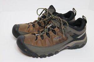 KEEN  1017783 Targhee III Men's Water Proof Hiking Shoe  Brown Black Size 12