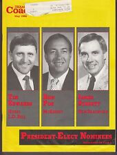 1988 Texas Coach Magazine May Tim Edwards Ron Poe James Streety 19367