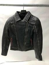 Spada Ladies Baroque Leather Jacket waterproof sheep hide soft light Black 12