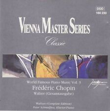 Frederic Chopin - World famous piano music vol.3 - Walzer (Schmallfuss) CD