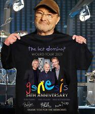 The last domino world tour 2021 Genesis 54th anniversary thank you T-shirt