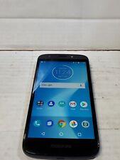 New listing Motorola Moto E5 Play, 16GB, Blue (Cricket) Good Condition :C330