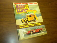 MODEL CAR SCIENCE magazine JUNE 1968 slot cars model kits Monogram matchbox