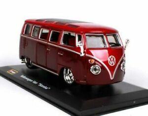 1:32 Volkswagen Van Samba Alloy Racing Convertible alloy car model...
