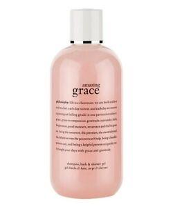 Philosophy Amazing Grace 8-Oz. Shampoo, Shower Gel & Bubble Bath FREE SHIPPING