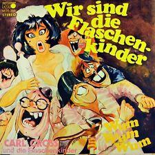 """7"""" CARL GROSS Wir sind die Flaschenkinder / Wum Wum Wum METRONOME Karneval 1971"""