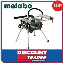 Metabo 2000W Table Saw + Integrated Stand. #TS254
